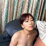 Cute sweetie gets her twat filled with pipe on the couch